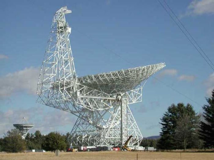 The Robert C Byrd telescope at the Green Bank Radio Observatory