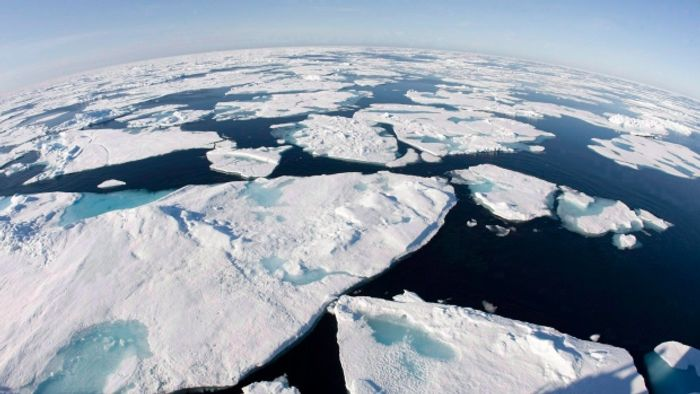 Sea ice in the Arctic hits a dangerous low