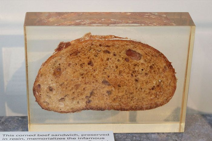 John Young and Gus Grissom shared this corned beef sandwich in space 50 years ago.