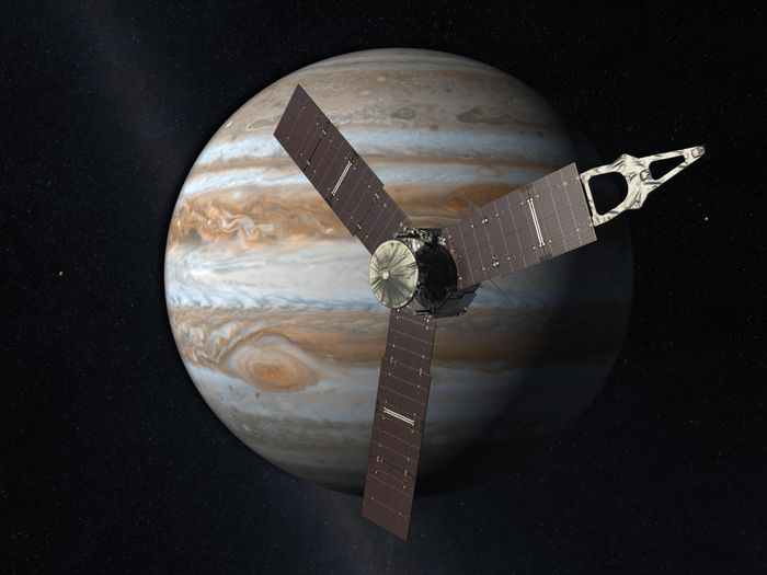 The Juno mission is closing in on Jupiter after 5 years of waiting, and soon we'll get to learn more about the massive planet's atmospheric composition and more.