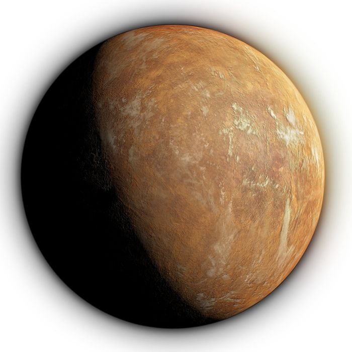 An artist's impression of what Barnard's Star b might look like.
