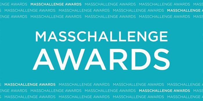 MassChallenge award image, credit: MassChallenge public Facebook photo (facebook.com/masschallenge/)