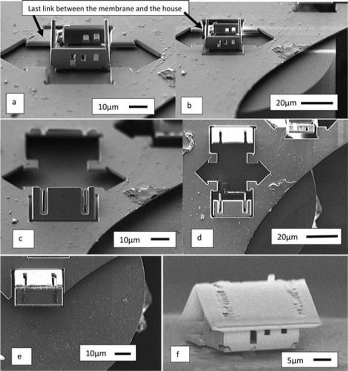 microhouse origami process, credit: FEMTO-ST Institute
