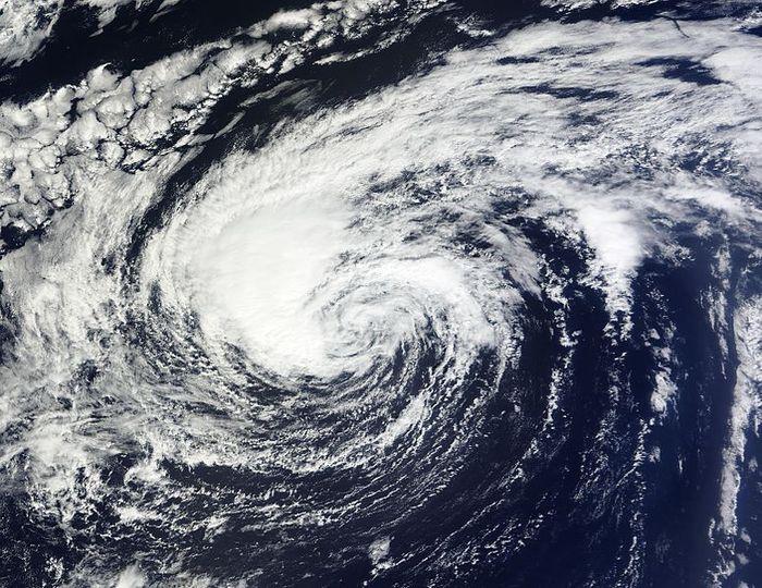 tropical storm, credit: public domain