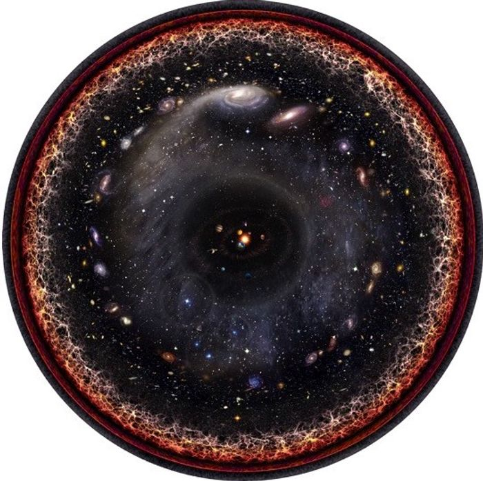 The universe is constantly expanding in its own little bubble, but it may be smaller than once thought.