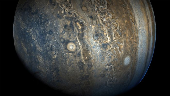 Jupiter's formation wasn't the smoothest. The planet saw lots of interruptions that delayed formation by quite a bit.