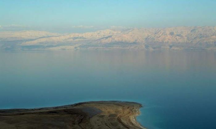 An image of the Dead Sea. Photo: Phys.org