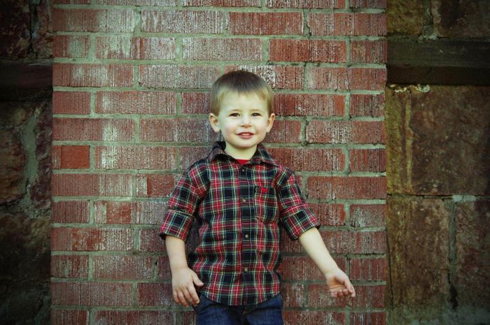 Tucker Roussin, 3, is the first successful survivor of fetal surgery for a life-threatening tumor connected to his heart.