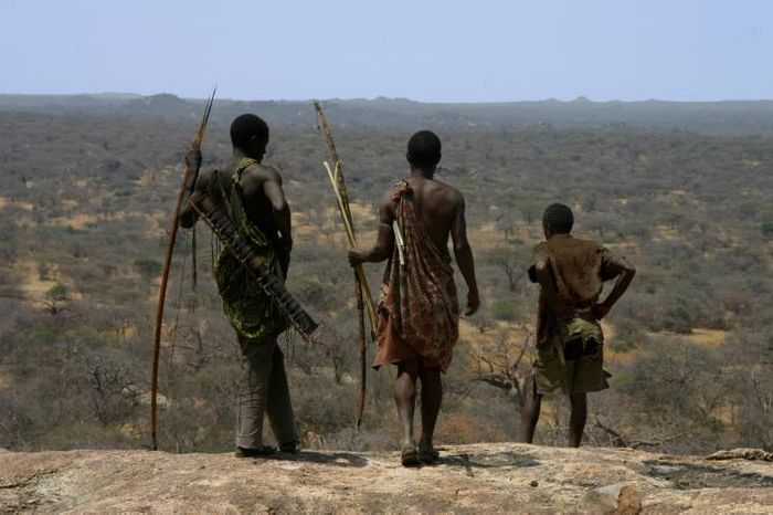 The Hadza people, in north-central Tanzania, are among the last hunter-gatherers on Earth. Credit: Brian Wood