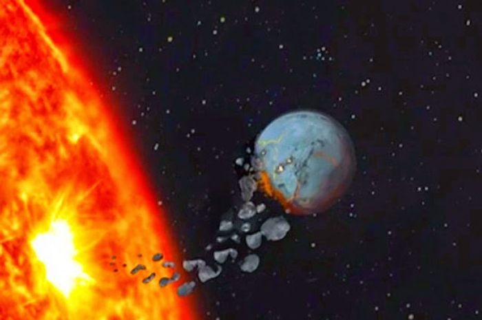 Do stars change color when they devour planets?