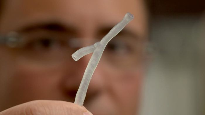A 3D Printed Artery