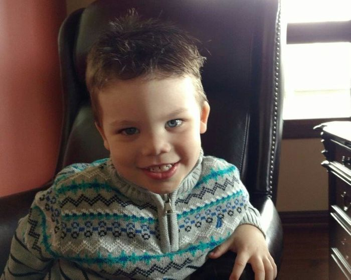 Lane Graves, the 2-year-old boy who was dragged into the water by the alligator.