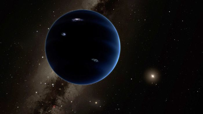 An artist's rendition of Planet Nine.