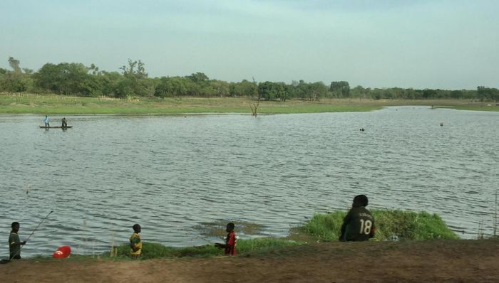 A river in the Comoe province at the Southwestern part of Burkina Faso where malaria is endemic / Credit: Aissatou Diawara