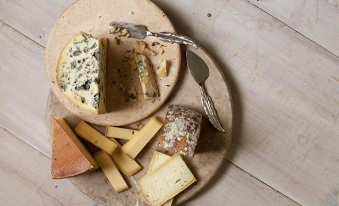 Fungi and bacteria key to ripening cheese communicate with and feed each other using volatile compounds / Credit: Adam Detour