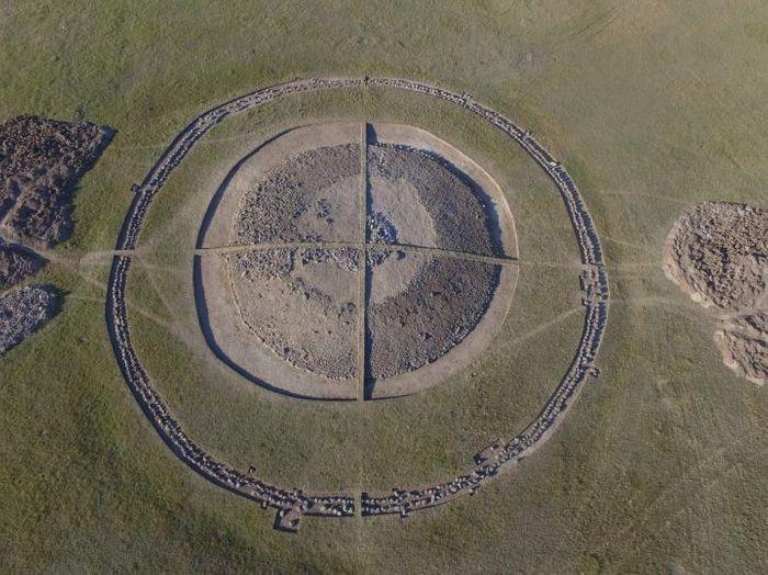 Mound 4 of the Eleke Sazy necropolis in eastern Kazakhstan / Credit: Zainolla Samashev