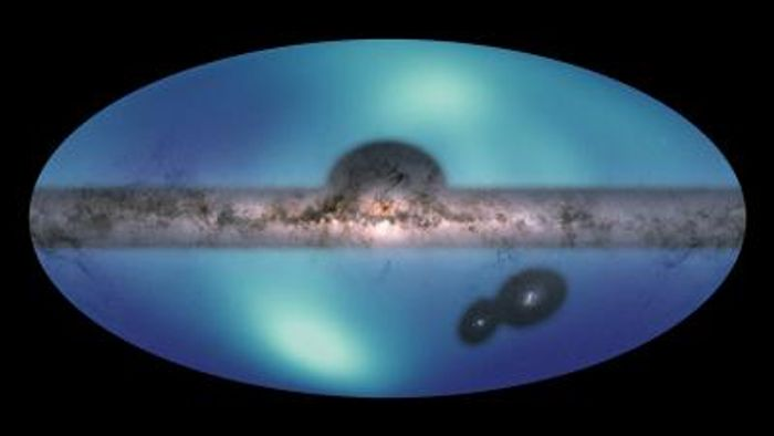 Astronomers have released a new all-sky map of the outermost region of our Milky Way galaxy. / Credit: NASA/JPL-Caltech/NSF/R.Hurt