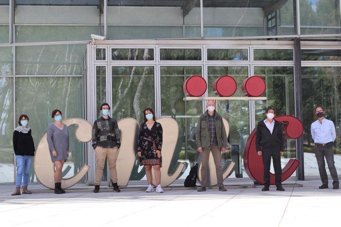 Sara Martínez Martínez, María José Méndez Olivares, Álvaro Alfayate, , Andrea de la Fuente-Alonso, Miguel R. Campanero, Juan Miguel Redondo y Jesús Vázquez.. / Credit: CNIC