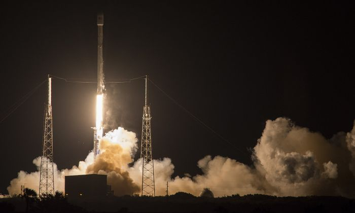 SpaceX successfully launched and landed yet another Falcon 9 rocket at sea.