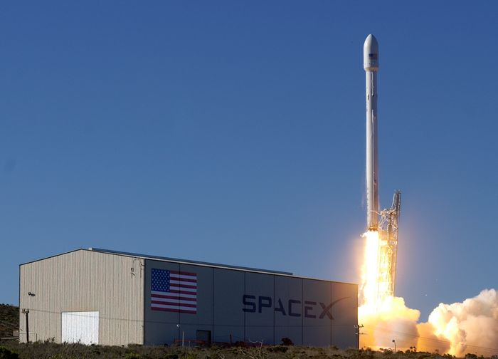 SpaceX will launch a reusable Falcon 9 rocket this week carrying the SES-9 satellite.