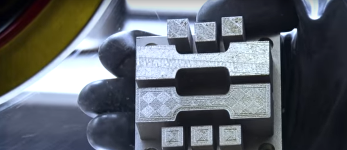 3D metal printing, credit: HRL Labs YouTube