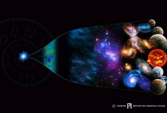 The arrow of time. Credit: the Perimeter Institute For Theoretical Physics