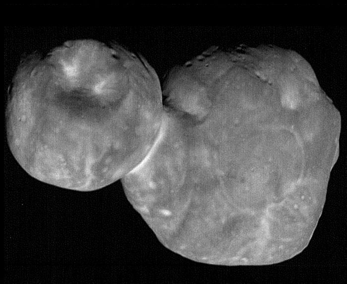 One of the clearest pictures of Ultima Thule to be received from New Horizons since the fly-by on New Year's Day.
