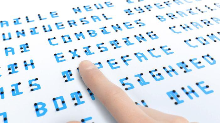 Braille Neue, credit: Kosuke Takahashi