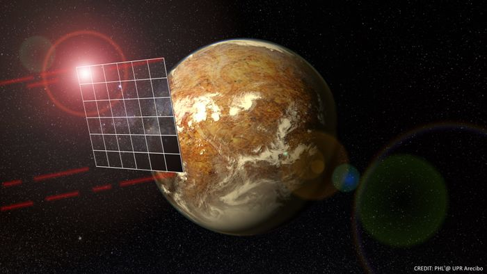 Solar sails might be the only way of getting a probe to another system in a reasonable amount of time.