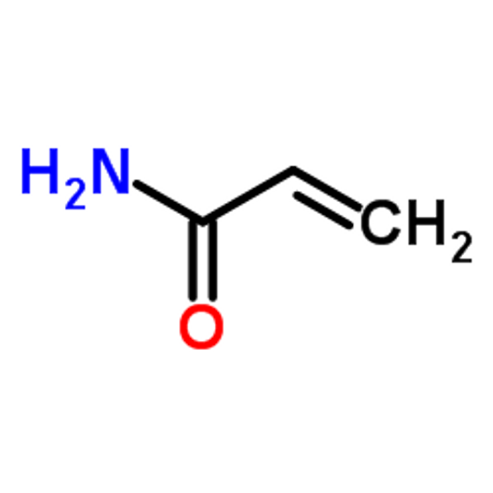 Acrylamide structure; Photo Source: The Metabolomics Innovation Centre