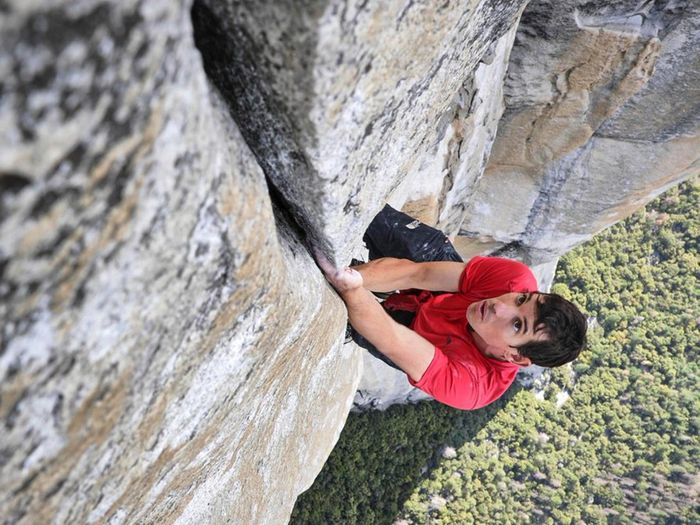Professional climber, Alex Honnold, who was the first to scale El Cap without a rope. Photo: www.alexhonnold.com