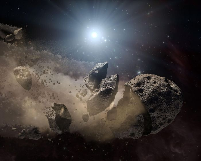 Near-Earth Asteroids may be fewer and farther in between than originally anticipated.