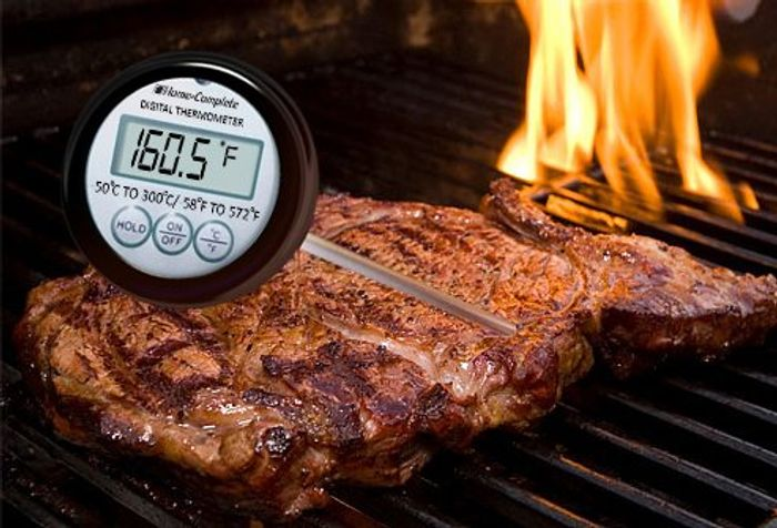 Try using a meat thermometer!
