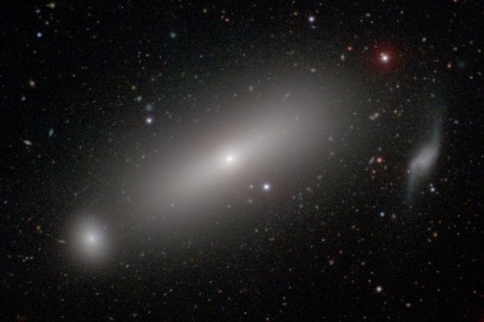 A supermassive black hole around 73 million light years away has had its mass measured by astronomers.