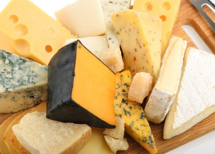 Microbes give cheese distinct tastes and smells.