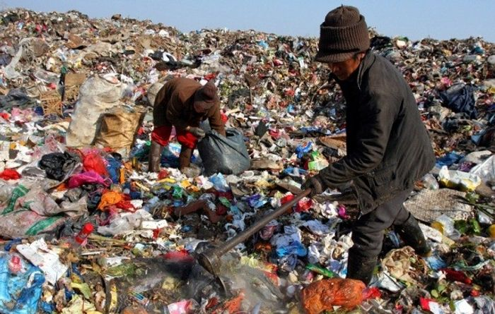 China ends up with much of the world's waste. Photo: Plastics News