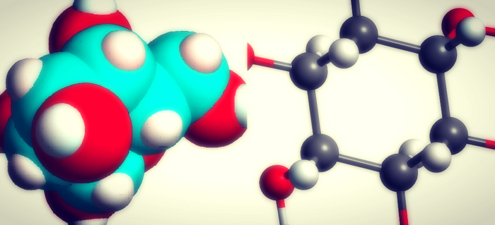 molecule illustrations, credit: public domain