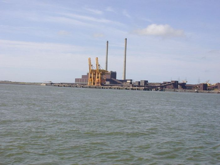 Moneypoint power station is Ireland's largest electricity generation station, powered mostly by coal. Image Credit: Charles W Glynn/Wikimedia Commons