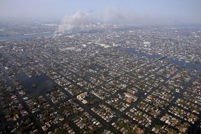 Soon this will be the permanent state of New Orleans.