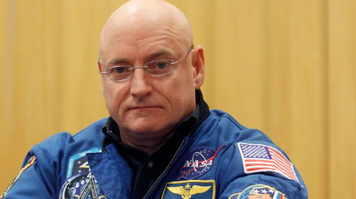 Scott Kelly after returning to Earth.