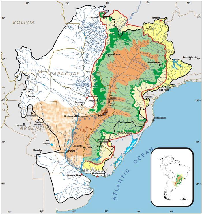 Map: CAS/SRH/MMA (UNPP/Brazil)