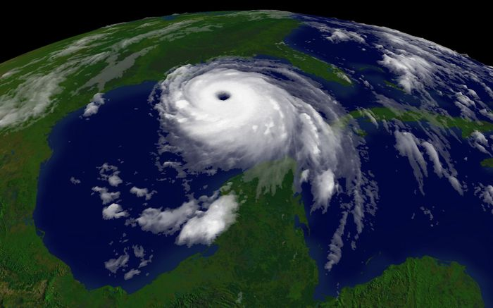 Measuring atmospheric waves may prove better for monitoring hurricanes than satellite imagery. Photo: Wikipedia