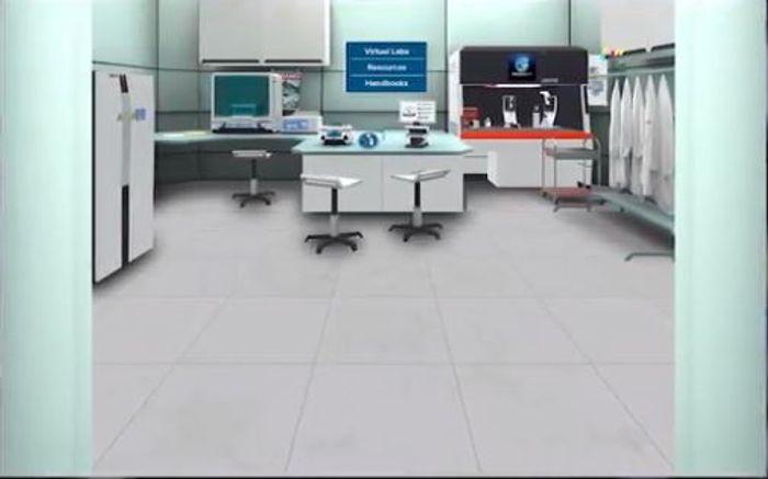 LabCoat Live SmartStart Training virtual station
