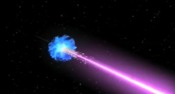 Galactic cosmic rays (GCRs) are of most concern to NASA. It is challenging to shield against GCRs. They come from exploding stars called supernovae. / Credit: NASA