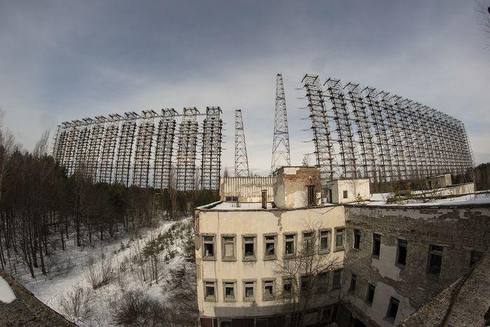 Abandoned buildings in Pripyat, near Chernobyl / Credit: MaxPixel