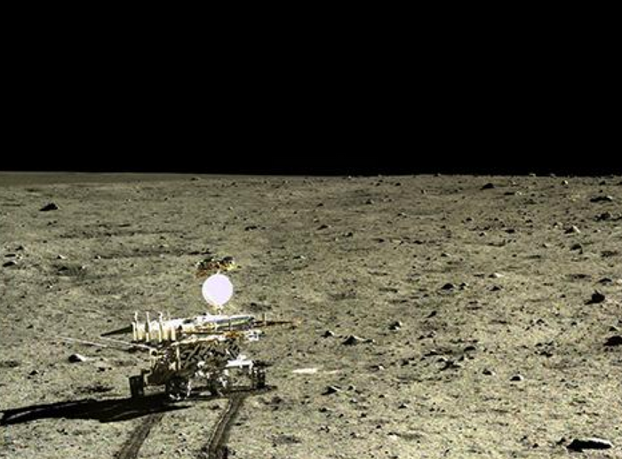 A new type of rock has been described as discovered on the Moon's surface.
