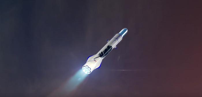 Blue Origin's New Glen rocket already has two customers for launching satellites.