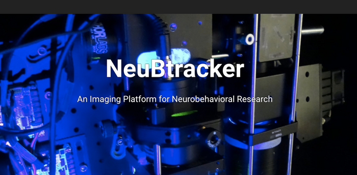 A screenshot of the NeuBtracker site / Credit: C Leitch