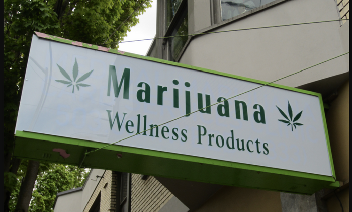 While marijuana may have tremendous potential as a medicinal product, the FDA wants sellers to prove their claims before peddling these products as therapeutics./Image Credit: Marijuana Wellness Products, Hollywood, Portland, Oregon / Credit: Wikimedia Commons/Another Believer