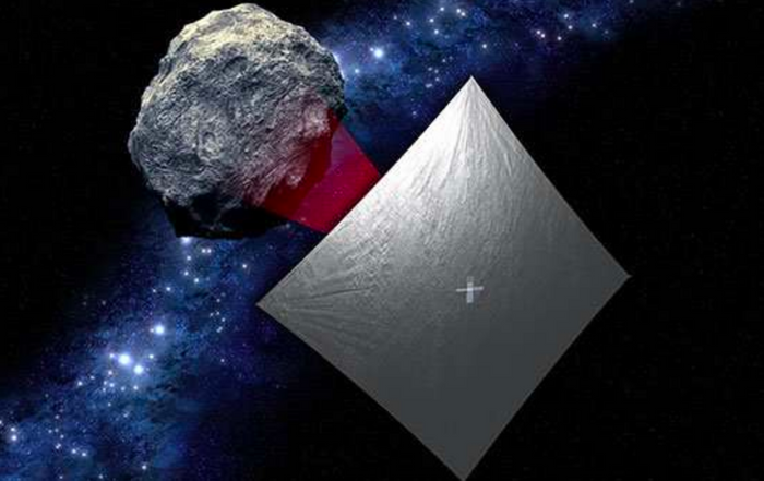 Researchers from RIT are redefining what we should expect from a solar sail.